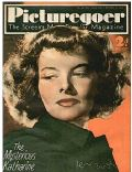 Katharine Hepburn on the cover of Picturegoer (United Kingdom) - November 1937