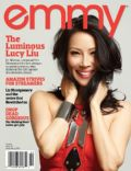 Lucy Liu on the cover of Emmy (United States) - April 2013