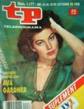 Ava Gardner on the cover of Tp (Spain) - October 1988