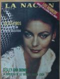 Lesley-Anne Down on the cover of La Nacion (Spain) - August 1978