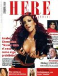Anabel Cherubito on the cover of Here (Argentina) - March 2004
