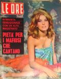 Catherine Deneuve on the cover of Le Ore (Italy) - March 1964
