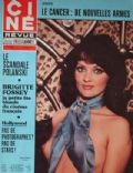 Femi Benussi on the cover of Cine Revue (France) - March 1977