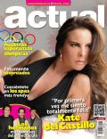 Kate del Castillo on the cover of Actual (Mexico) - July 2012