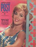 Kathy Kersh on the cover of Australasian Post (Australia) - February 1964