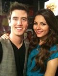 Logan Henderson and Victoria Justice