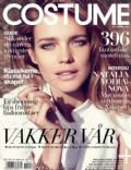 Natalia Vodianova on the cover of Costume (Norway) - April 2011