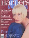 Patricia Arquette on the cover of Harpers and Queen (United Kingdom) - December 1996