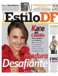 Kate del Castillo on the cover of Estilo Df (Mexico) - January 2011