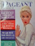 Dorothy Provine on the cover of Pageant (United States) - January 1961