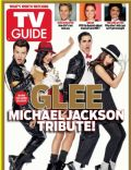 Chris Colfer, Darren Criss, Lea Michele, Naya Rivera on the cover of TV Guide (United States) - January 2012