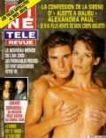 Alexandra Paul on the cover of Cine Tele Revue (Belgium) - March 1996