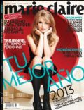 Taylor Swift on the cover of Marie Claire (Mexico) - January 2013