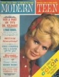 Connie Stevens on the cover of Modern Teen (United States) - June 1963