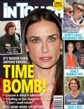 Demi Moore, Heidi Klum, Heidi Klum and Seal, Seal on the cover of In Touch Weekly (United States) - February 2012