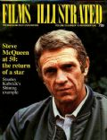 Steve McQueen on the cover of Films Illustrated (United Kingdom) - November 1980
