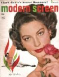 Ava Gardner on the cover of Modern Screen (United States) - March 1949