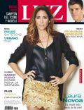 Laura Novoa on the cover of Luz (Argentina) - June 2012