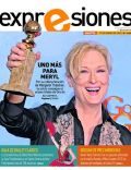 Meryl Streep on the cover of Expresiones (Ecuador) - January 2012