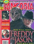Robert Englund on the cover of Fangoria (United States) - August 2003