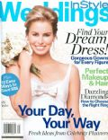 on the cover of Instyle Weddings (United States) - December 2006