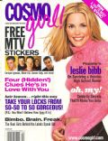 Leslie Bibb on the cover of Cosmo Girl (United States) - October 2000