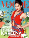Kareena Kapoor on the cover of Vogue (India) - April 2014