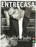Joaquín Furriel on the cover of Entrecasa (Argentina) - June 2013
