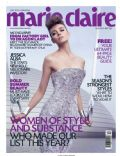 on the cover of Marie Claire (Malaysia) - July 2012