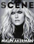 Malin Akerman on the cover of Scene (United States) - October 2013