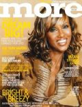Iman on the cover of More (United States) - April 2003