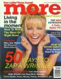 Cheryl Tiegs on the cover of More (United States) - September 1997
