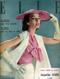 Dorian Leigh on the cover of Elle (France) - May 1951
