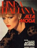 Patti Hansen on the cover of Linea Italiana (Italy) - September 1975