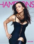 Famke Janssen on the cover of Hamptons (United States) - September 2002