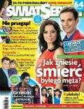 Katarzyna Glinka, Sebastian Cybulski on the cover of Swiat Seriali (Poland) - April 2013
