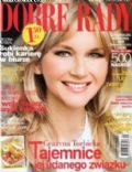 Grazyna Torbicka on the cover of Dobre Rady (Poland) - September 2008