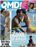 Cristiano Ronaldo, Irina Shayk on the cover of Qmd (Spain) - July 2012