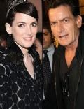 Winona Ryder and Charlie Sheen