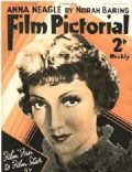 Claudette Colbert on the cover of Film Pictorial (United Kingdom) - November 1935