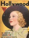 Ginger Rogers on the cover of Hollywood (United States) - March 1935