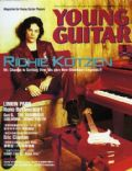 Richie Kotzen on the cover of Young Guitar (Japan) - May 2003
