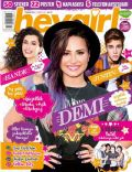 Demi Lovato, Hande Dogandemir, Justin Bieber on the cover of Hey Girl (Turkey) - July 2014
