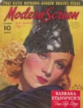 Marlene Dietrich on the cover of Modern Screen (United States) - November 1937