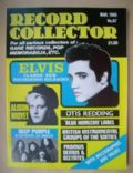 Elvis Presley on the cover of Record Collector (United Kingdom) - March 1985