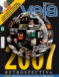 Camila Pitanga, David Beckham, Dilma Rousseff, Elite Squad, George W. Bush, Hugo Chávez, Steve Jobs, Victoria Beckham, Wagner Moura on the cover of Veja (Brazil) - December 2007