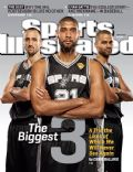 Tony Parker on the cover of Sports Illustrated (United States) - June 2013
