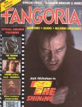 Jack Nicholson on the cover of Fangoria (United States) - August 1980