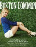 Mena Suvari on the cover of Boston Common (United States) - March 2012