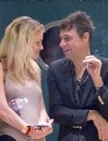 Jamie Hince and Jessica Stam